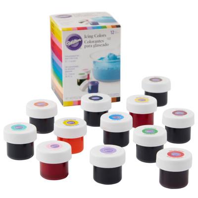 12pc Icing Colour Set