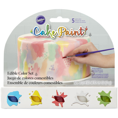 Cake Paint - Primary Colours