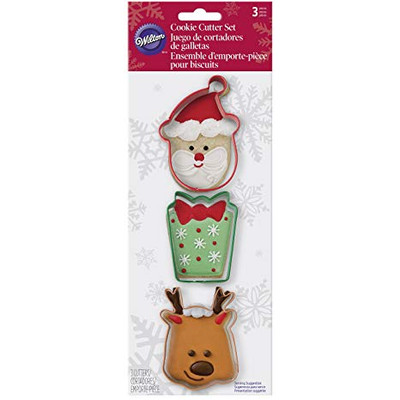 Holiday Cookie Cutter 3pc Set