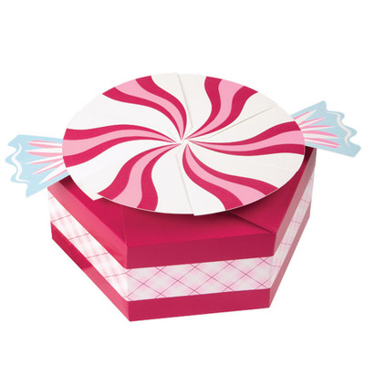Gingerbread Cottage Peppermint 3pk Gift Box Set