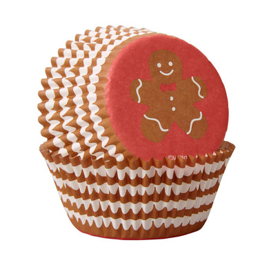 Gingerbread Standard Baking Cups 75pc