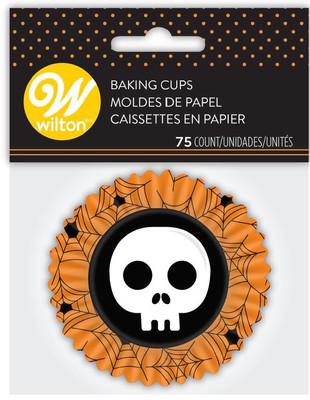 Happy Halloween Skull std Baking Cup
