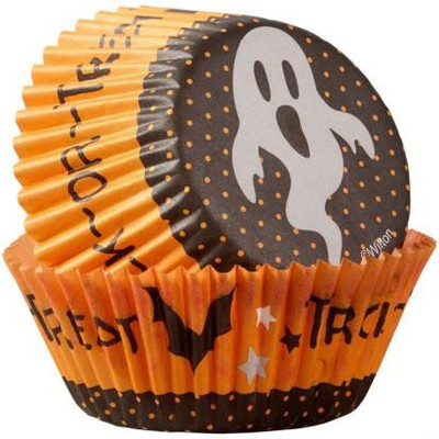 Trick or Treat Ghost std Baking Cup