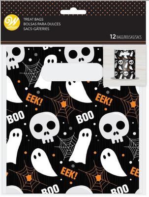 Happy Halloween Handle Treat Bag