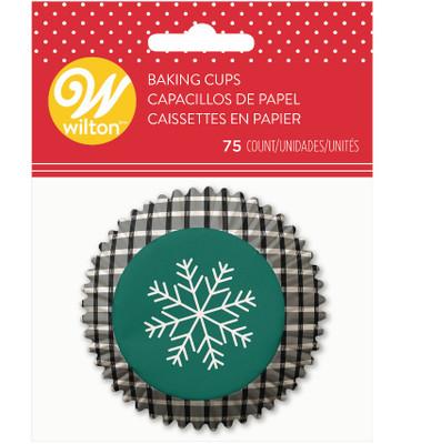 Snowflake std Baking Cups