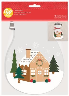 Gingerbread House Treat Bag