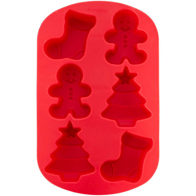 Christmas Shapes Silicone Mould