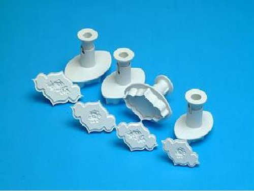 Set of 4 Embossing Cutters