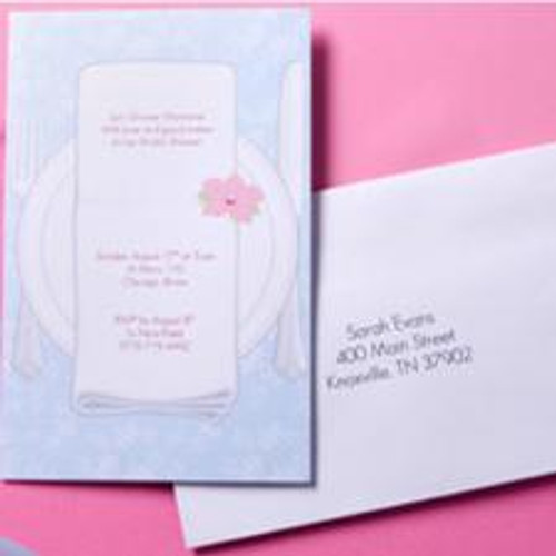 Place Setting Invitation Kit