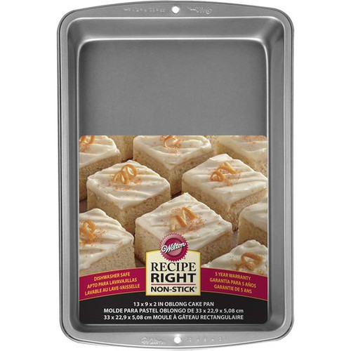Recipe Right Rectangle Cake Pan 33 x 23cm