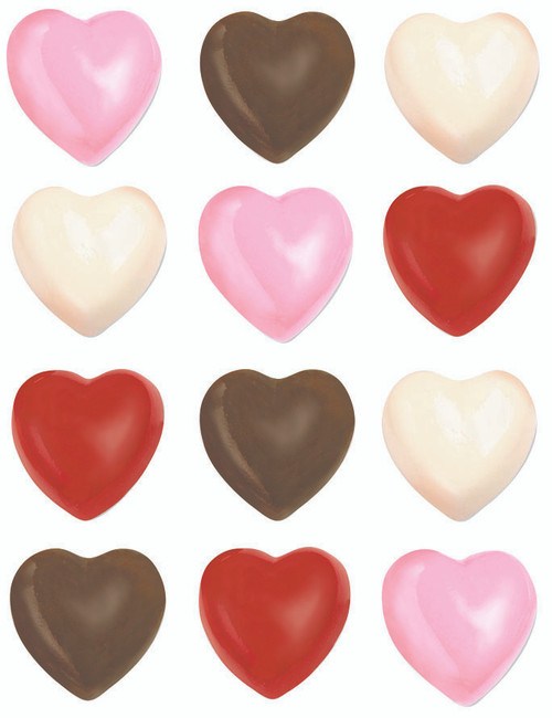 Hearts Chocolate Mould