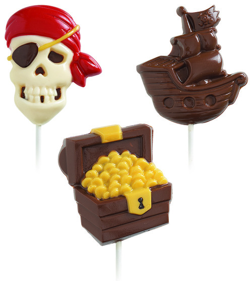 Pirate Lollipop Mould