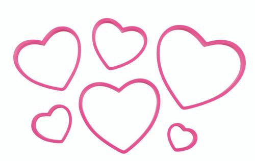 Heart Nesting Cutter Set