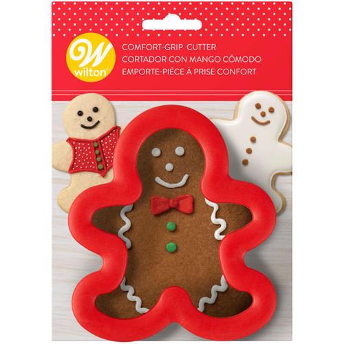 Gingerbread Boy Comfort Grip Cutter
