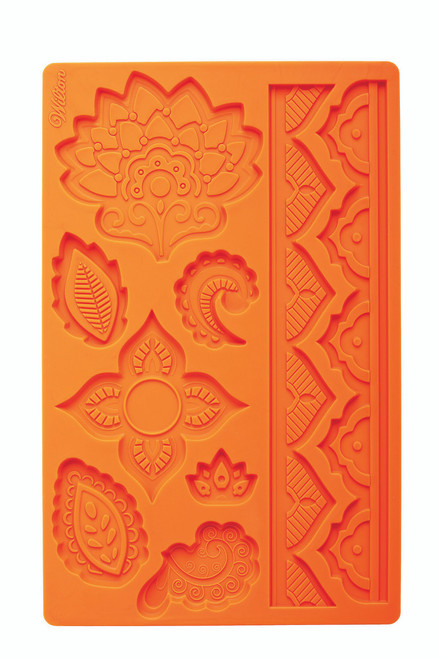 Flower and Gum Paste Silicone Mould Global