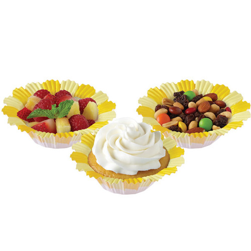 Yellow Blossom Baking Cups