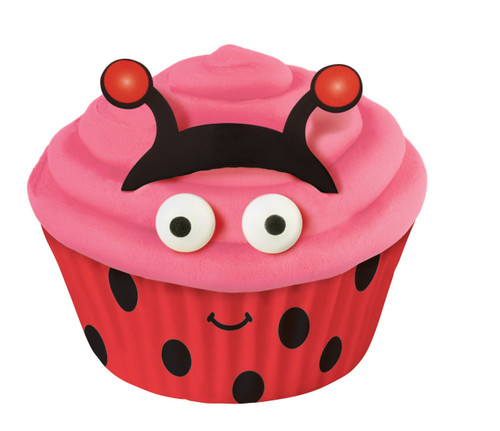 Ladybug Cupcake Decorating Kit
