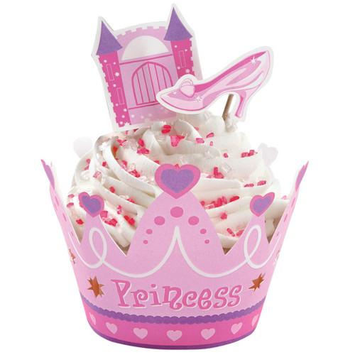 Princess Cupcake Wraps 'n' Pix