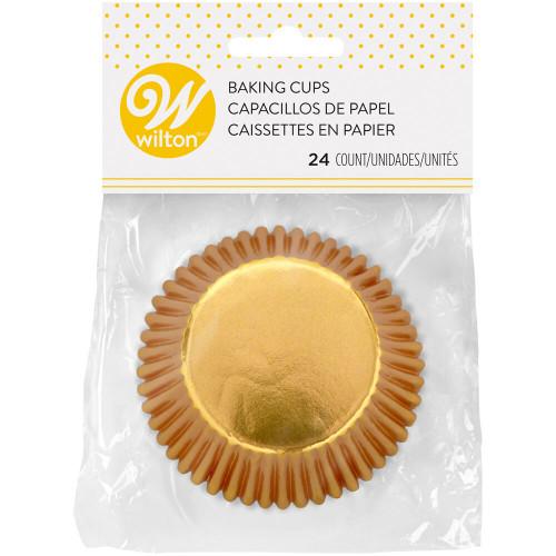 Standard Gold Foil Baking Cups