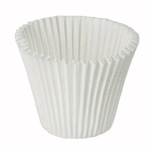 Jumbo White Baking Cups