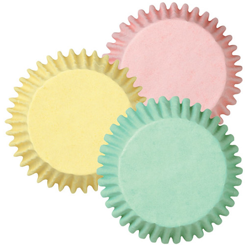 Standard Assorted Pastel Baking Cups