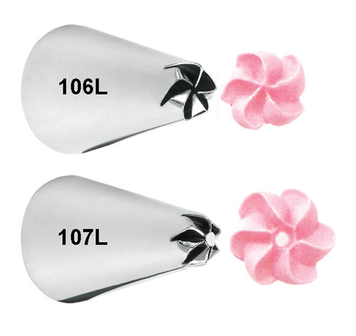 Left Handed Drop Flower Tip Set