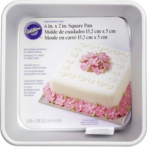 Performance Square Cake Pan 15 x 5cm