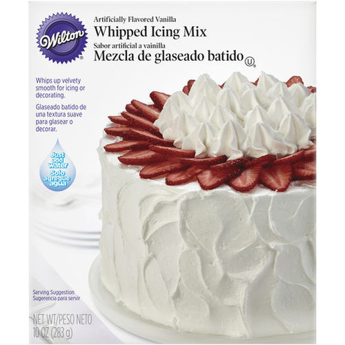 Vanilla Whipped Icing Mix