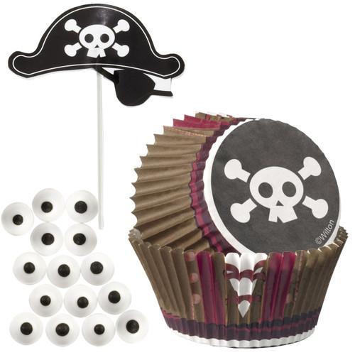 Pirate Cupcake Decorating Kit