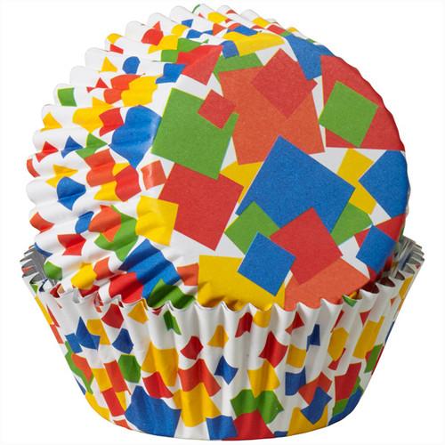 Confetti Squares ColourCups - Standard