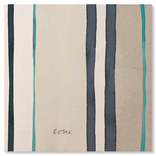 Fashion Caribe 3 ply napkins - 33cm x 33cm