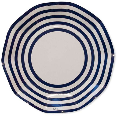 Navy Small Plate - 21cm