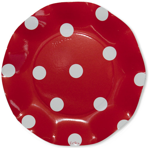 Pois Red Small Plate - 21cm