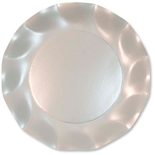 Pearly White Large Plate - 27cm