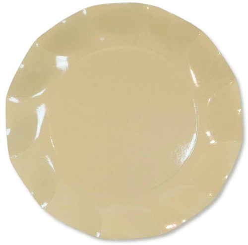 Cream Large Plate - 27cm
