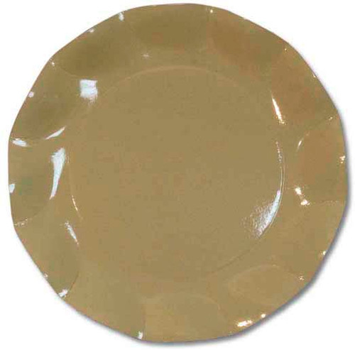 Taupe Small Plate - 21cm