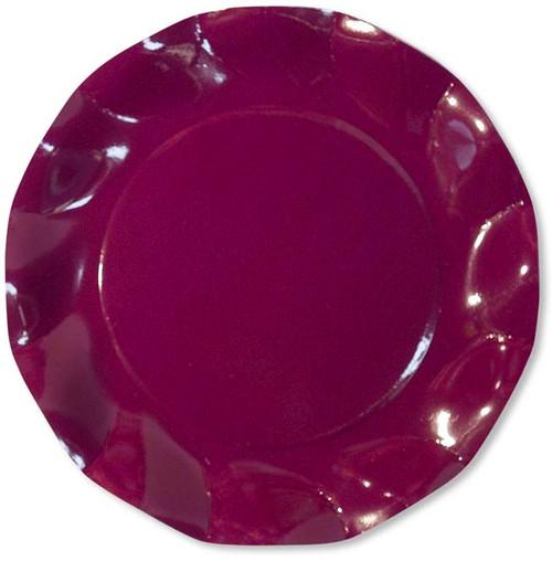 Purple Large Plate - 27cm