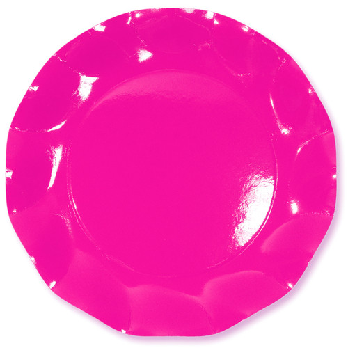 Pink Large Plate - 27cm