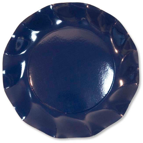 Navy Blue Large Plate - 27cm