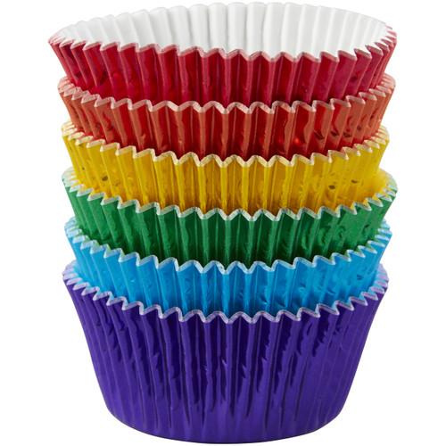 Multi-Foil Rainbow Standard Baking Cups