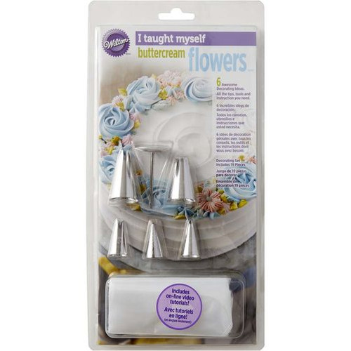 'I Taught Myself' Buttercream Flowers Kit