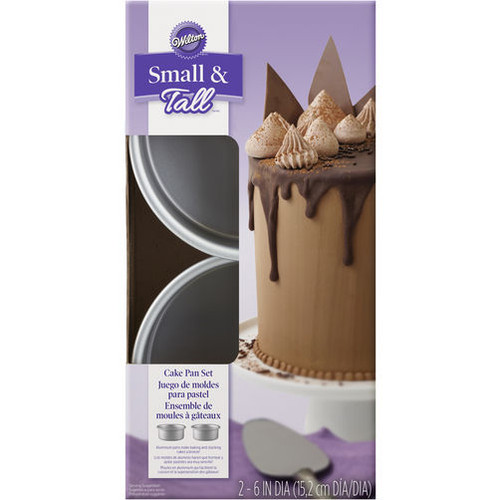 Small and Tall Layer Cake Pan Set