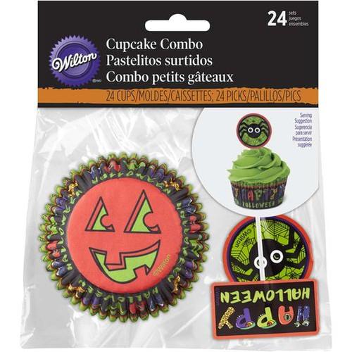Happy Halloween Spider Cupcake Decorating Combo