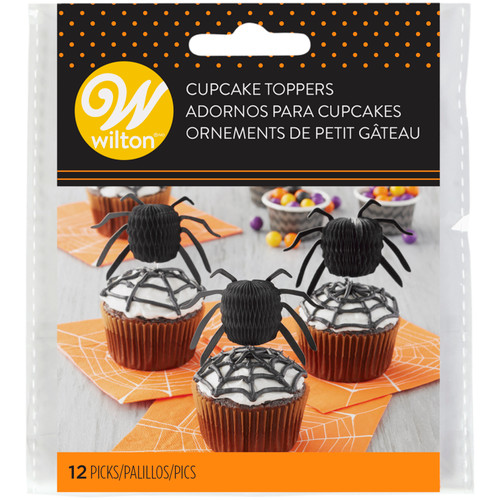 Spider Honeycomb Picks 12pc