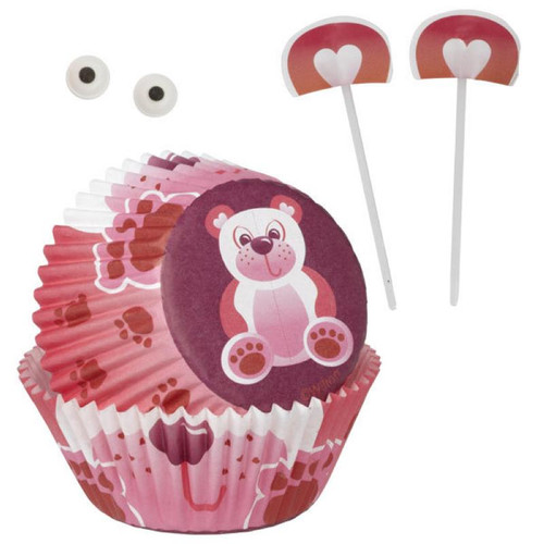 Love Bear Cupcake Decorating Kit