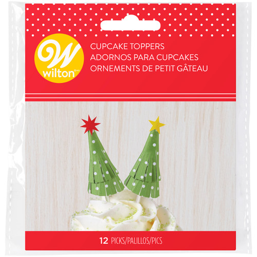 Tree Treat Picks - Pack of 12