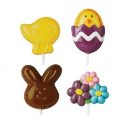 Fuzzy Bunny Lollipop Mould