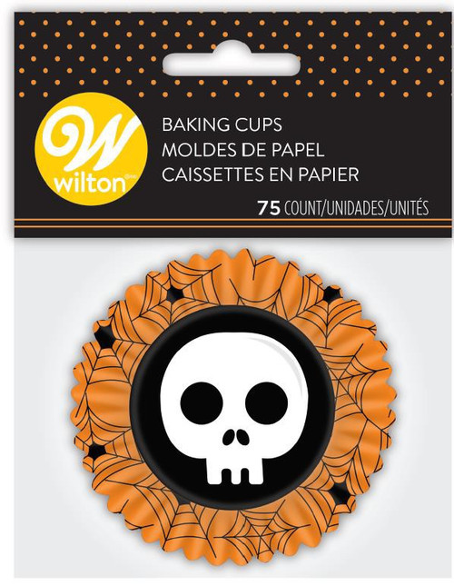 Happy Halloween Skull std Baking Cup