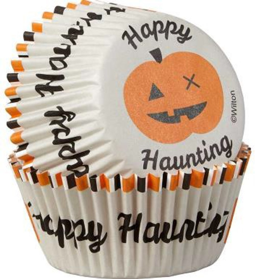 Happy Haunting std Baking Cups