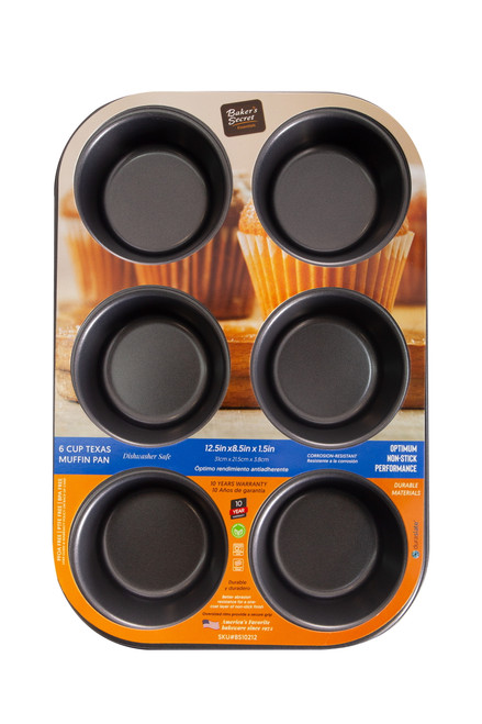 6cup Texas Muffin Pan